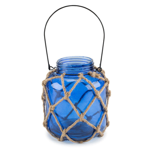 Glass Roped Candle Jars - Isabella: Gifts with Spirit - 1