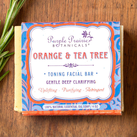 Orange & Tea Tree Toning Facial Bar - Isabella: Gifts with Spirit