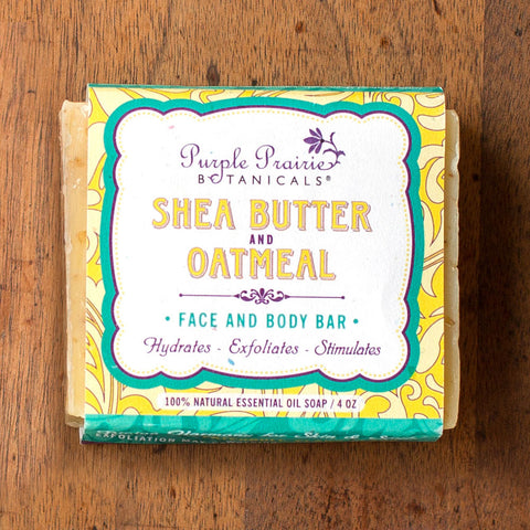Shea Butter & Oatmeal Face & Body Bar - Isabella: Gifts with Spirit