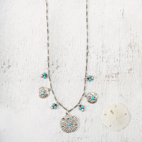 Sand Dollar Necklace - Isabella: Gifts with Spirit