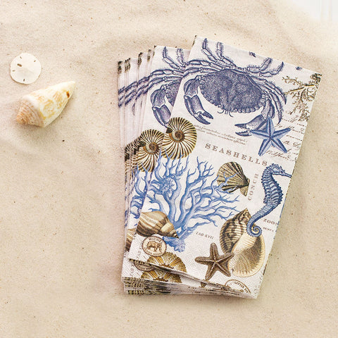 Seashore Paper Napkins - Isabella: Gifts with Spirit