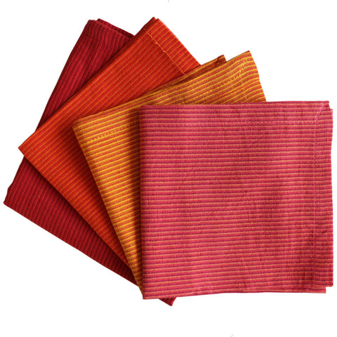 Cloth Cocktail Napkin Sets - Set of 4 - Isabella: Gifts with Spirit