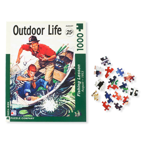 Father & Son Fishing Lesson Puzzle - Isabella: Gifts with Spirit