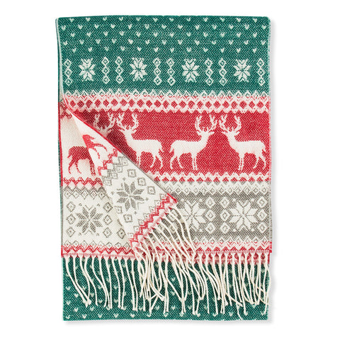 Cashmere Scarf - Holiday