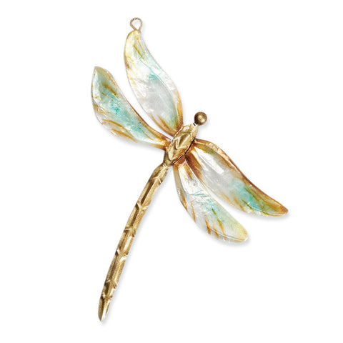 Pastel Dragonfly Ornament