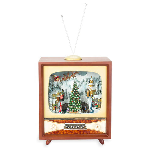 Large Musical Vintage TV - Isabella Catalog