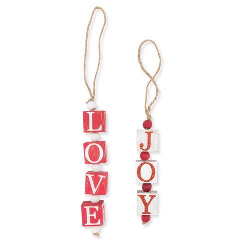 Love and Joy Ornament - Isabella Catalog