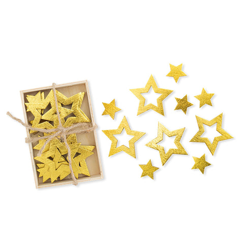 Wooden Stars Table Decor