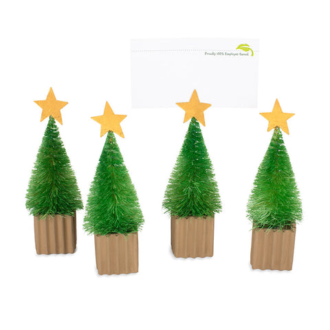 Sisal Tree Place-card Holders - Set of 4
