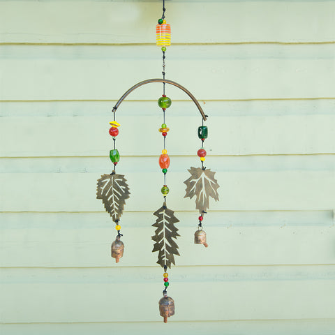 Fall Leaves Wind Chime