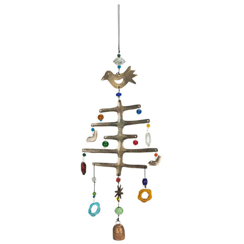 Christmas Tree Wind Chime - Isabella Catalog