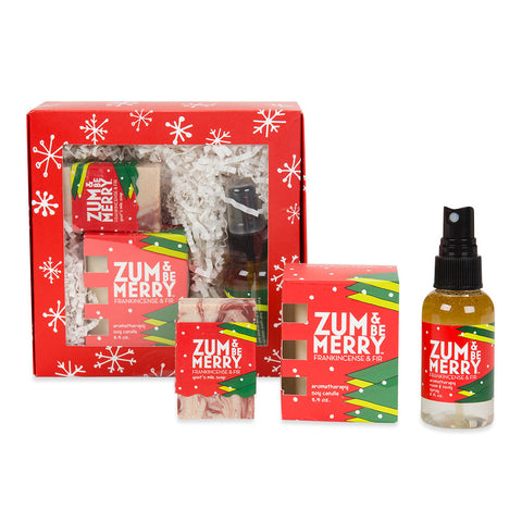 Zum & Be Merry Aromatherapy Gift Box - Isabella Catalog