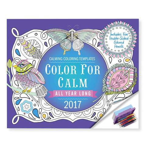 Color For Calm All Year Long Calendar - Isabella Catalog