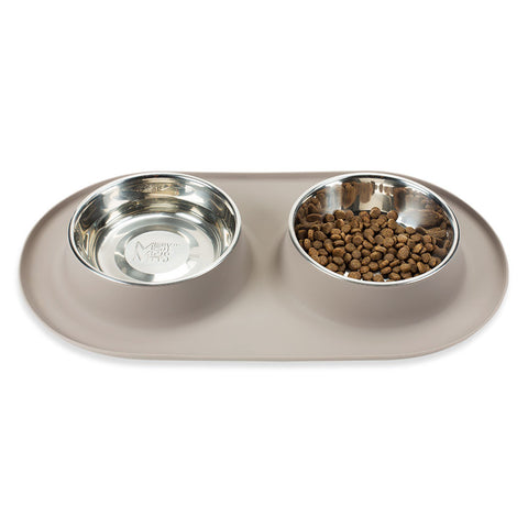 No Mess Dog Bowl Set