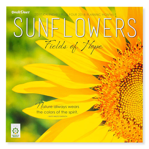 Sunflowers 2017 Calendar