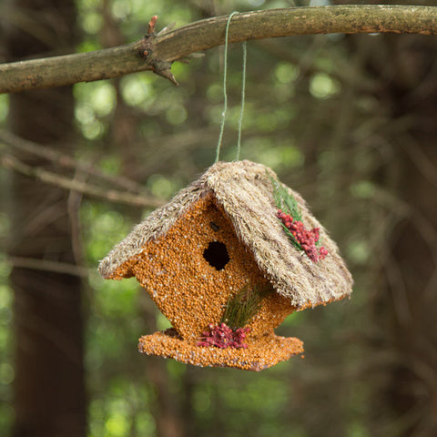 Wren Cottage Edible Birdhouse
