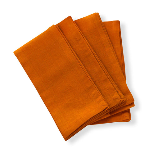 Pumpkin Spice Napkins - Set of 4
