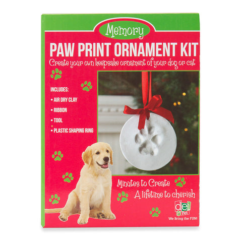 Keepsake Pawprint Ornament Kit - Isabella - 1