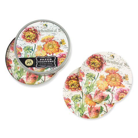 Blooms & Bees Coasters