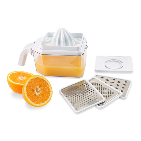3-in-1 Grater, Juicer & Egg Separator