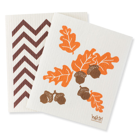 Swedish Dishcloths – Harvest (set of 2)