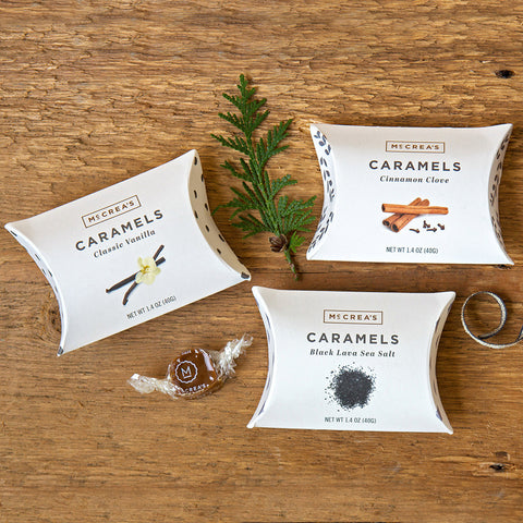 Caramel Gift Boxes - Set of 3 - Isabella Catalog