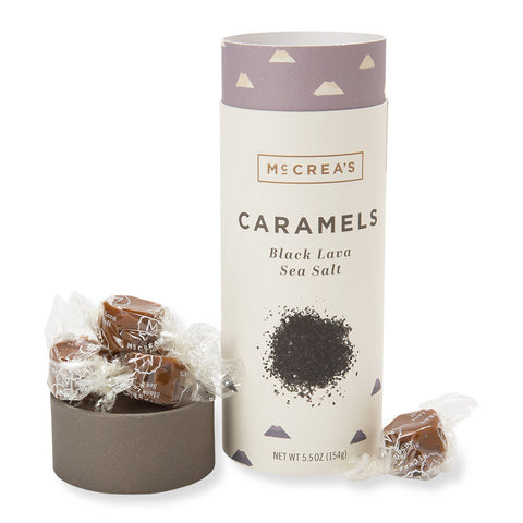 Black Lava Sea Salt Caramels - Isabella Catalog