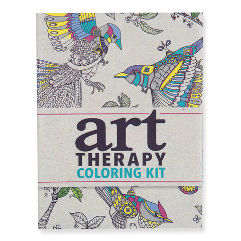 Mini Art Therapy Coloring Kit - front - Isabella Catalog
