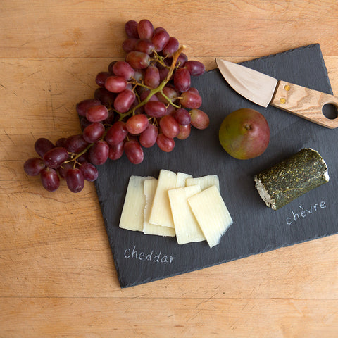 Slate Cheeseboard with Knife and Chalk - Isabella Catalog