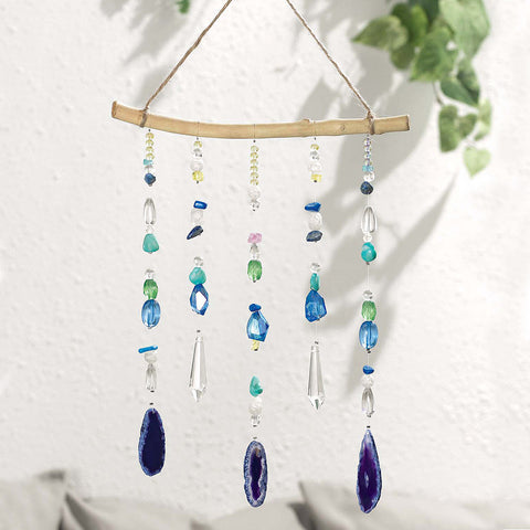 Purple Geode Hanging - Isabella Catalog