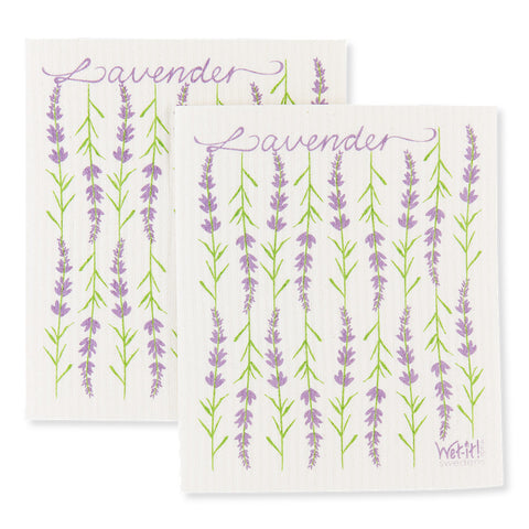 Lavender Dish Cloth - Set of 2 - Isabella Catalog