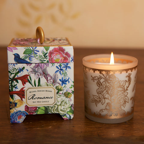 Romantic Rose Candle - Isabella Catalog