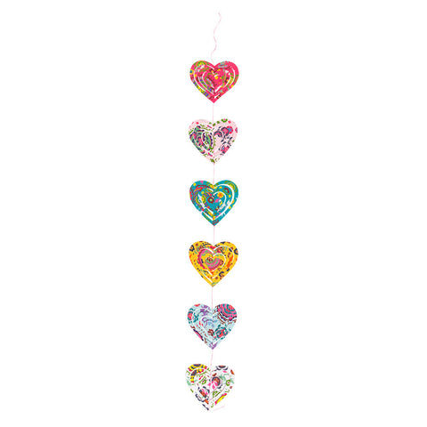 Hearts of Flutter Garland - Isabella Catalog