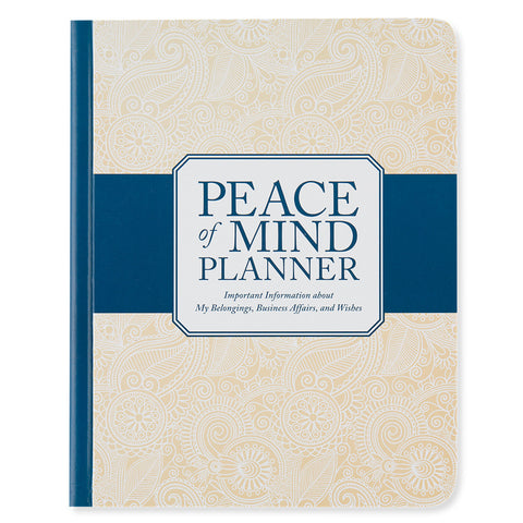 Peace of Mind Planner - Front - Isabella Catalog