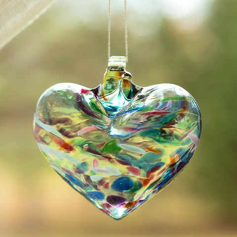 Romantic Glass Heart - Isabella Catalog