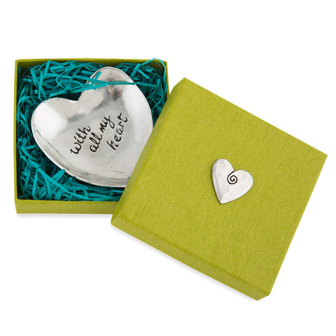 """With All My Heart"" Trinket Dish - Isabella Catalog"