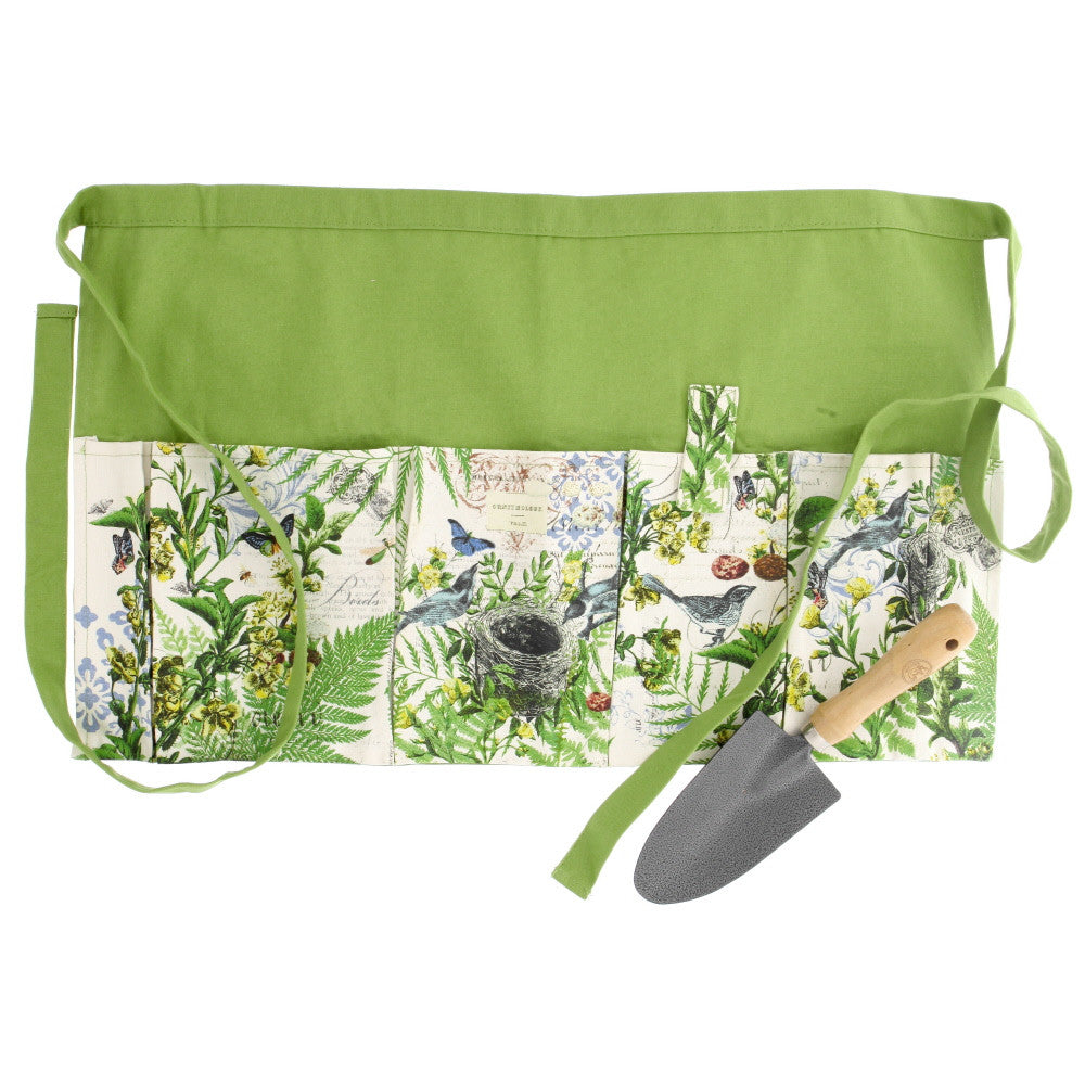 Into the woods garden apron trowel set isabella for Ladies garden trowel set
