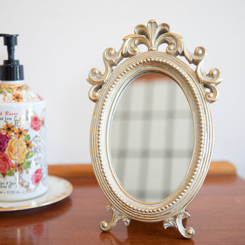 Vintage Style Table Mirror - Isabella Catalog