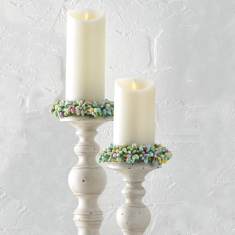 Pastel Berry Candle Ring - Isabella Catalog