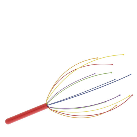 Rainbow Head Massager- Isabella