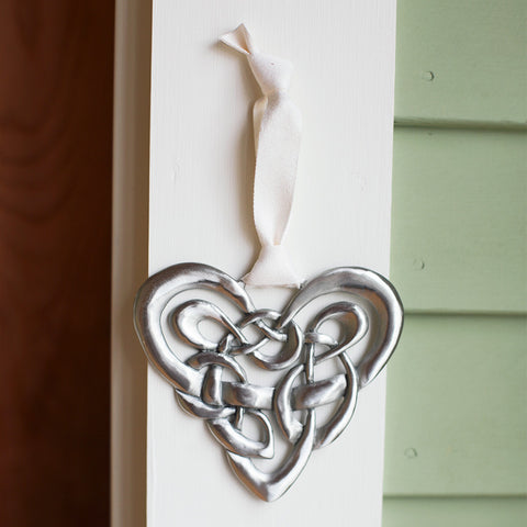 Celtic Heart Wall Ornament - Isabella