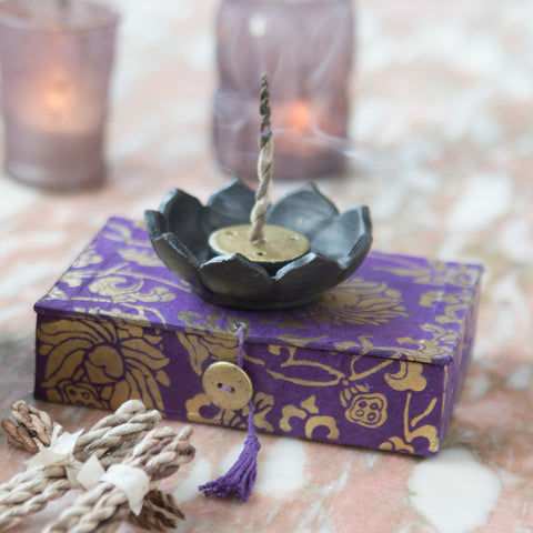 Lotus Incense Box - Isabella Catalog