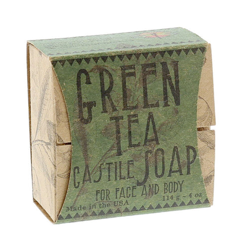 Green Tea Face & Body Soap- Isabella