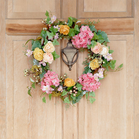 Spring Floral Wreath - Isabella Catalog