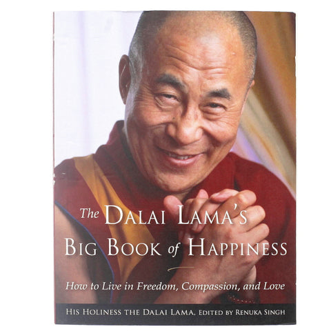 The Dalai Lama's Big Book of Happiness - Front - Isabella Catalog