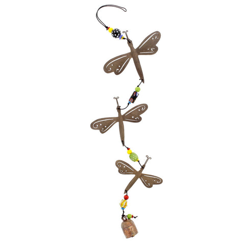 Handcrafted Dragonfly Chime - Isabella Catalog