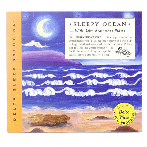 Sleepy Ocean CD - Front - Isabella Catalog