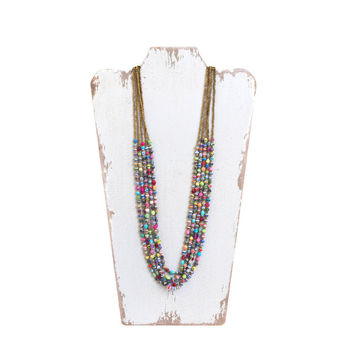 Masaai Paper Bead Necklace- Isabella Catalog