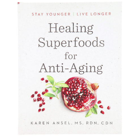 Healing Superfoods for Anti-Aging - Front - Isabella Catalog