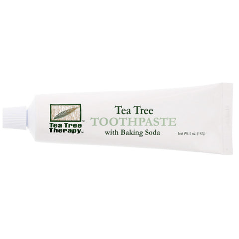 Tea Tree Toothpaste with Baking Soda - Isabella Catalog